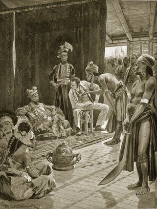 Sir James Brooke In Borneo von Richard Caton De Woodville (1856-1927, United States) | WahooArt.com