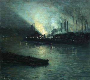 Aaron Harry Gorson - Pittsburgh Industrie Nocturne
