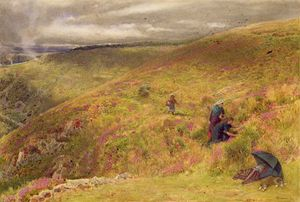 Albert Goodwin - On The South Downs