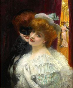Albert Lynch - le bal Maskerade .
