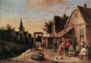 David Teniers The Elder - dorf fest