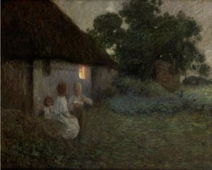Edward William Stott - Der Labourer-s Ferienhaus