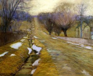 Edward Willis Redfield - Böcke Bezirk  im Winter