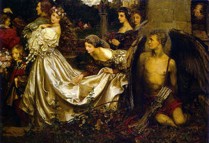 Eleanor Fortescue Brickdale - The Uninvited Guest
