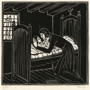 Eric Gill - mutter und kind