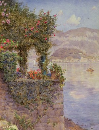 bellagio von tremezzo von Ernest Arthur Rowe (1863-1922, United Kingdom) | WahooArt.com