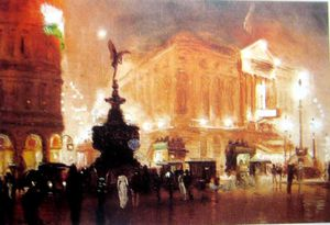 George Hyde Pownall - Piccadilly Zirkus