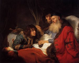 Govert Teunisz Flinck - Isaac Blessing Jacob