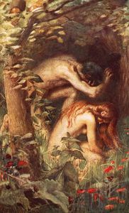 Harold Copping - Adam und Eve