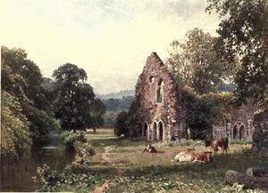 Harry Sutton Palmer - Waverley Abbey in der Nähe von Farnham