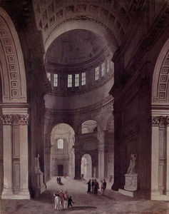 William Henry Pyne - St. Pauls Kathedrale