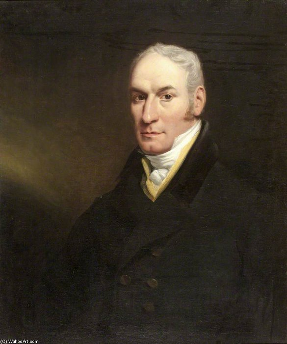 John Richardson von William Owen (1769-1825, United Kingdom) | Kunstdrucke Auf Leinwand | WahooArt.com