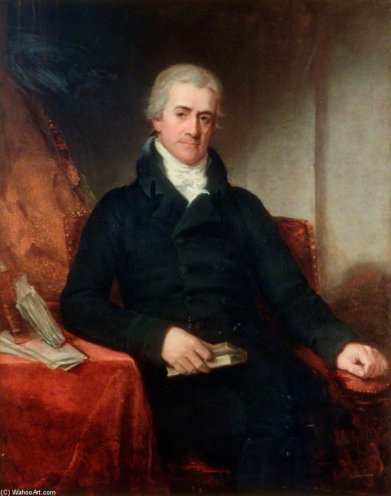 sir samuel romilly von William Owen (1769-1825, United Kingdom)