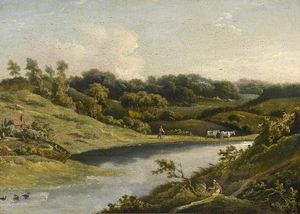 William Payne - Fluss in devon