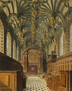 Charles Wild - hampton court palace , Kapelle