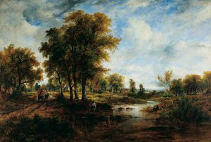 Frederick Waters (William) Watts - landschaft