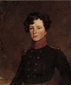 Henry William Pickersgill - Portrait eines Offiziers, Kleine Brust, Im Kleid Uniform