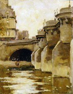 Patrick William Adam - Pont-neuf , Paris untergebracht ,