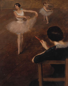 Albert Ernest Carrier Belleuse - Das Ballett Klasse