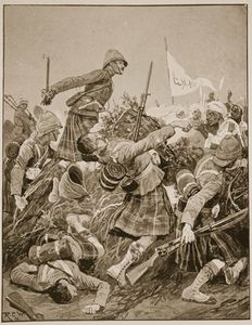 Richard Caton De Woodville - die seaforth highlanders Erstürmend