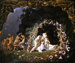 Richard Dadd - Titania Sleeping