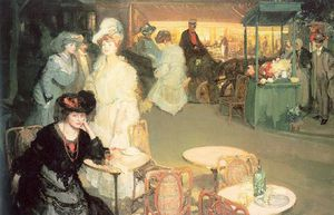 Richard Edward Miller - nacht café