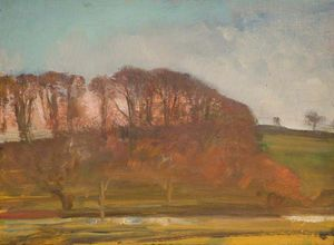 Alfred James Munnings - Waldlandschaft -