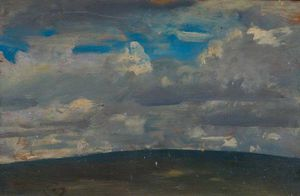 Sir Alfred James Munnings - Wolken auf Exmoor