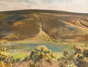 Alfred James Munnings - Mill Hill, Paddel, Exmoor