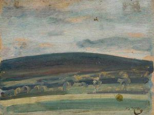 Sir Alfred James Munnings - Withypool Hill, Exmoor -