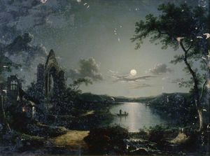 Henry Pether - Moonlit Szene