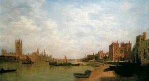 Henry Pether - Westminster von lambeth
