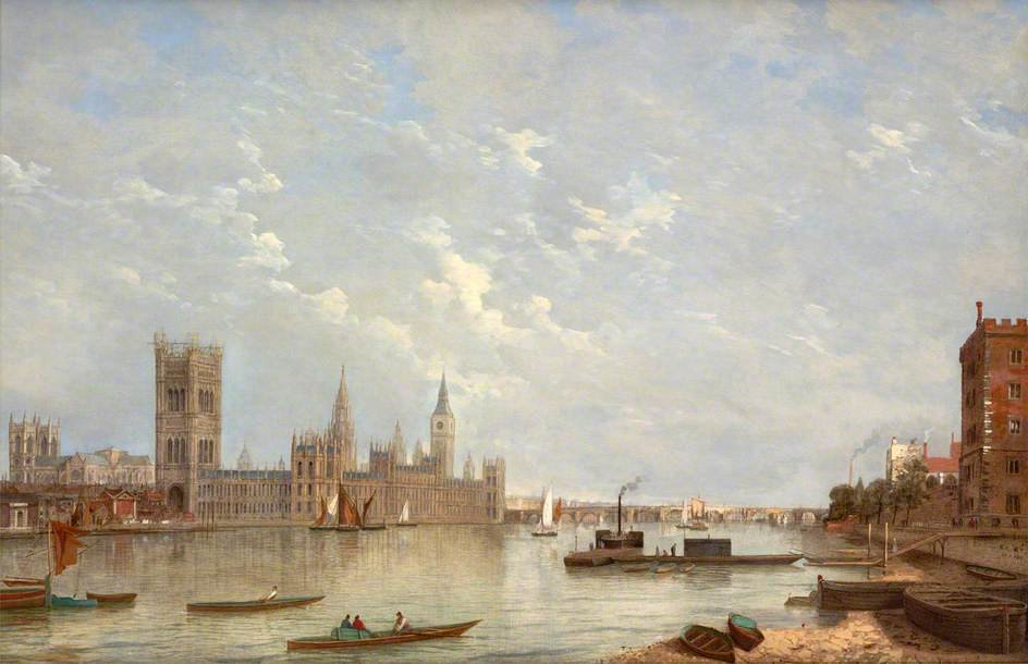 Westminster von Henry Pether (1828-1865, United Kingdom) | WahooArt.com