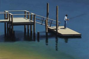 James Netherlands - Dock in der Bucht