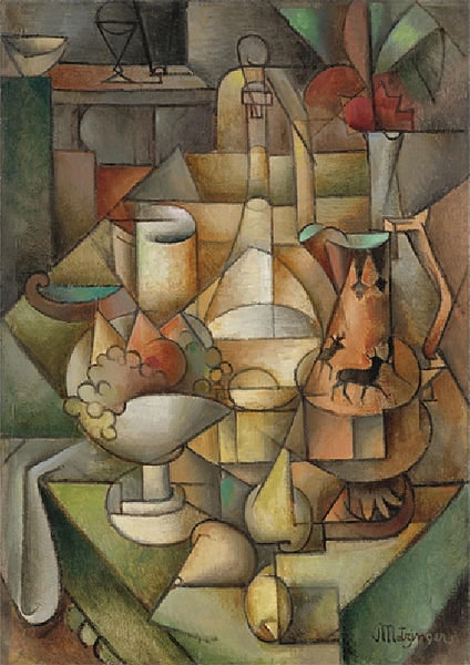 Nature Morte von Jean Dominique Antony Metzinger (1883-1956, France)