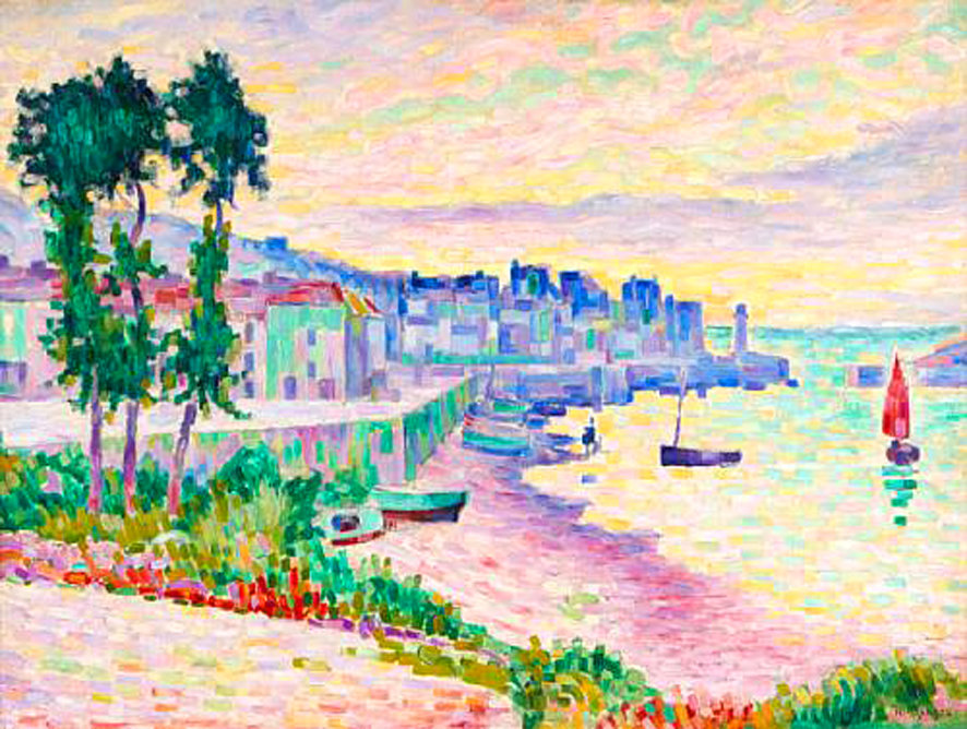 Saint-Tropez von Jean Dominique Antony Metzinger (1883-1956, France)