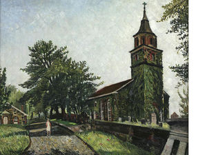 Richard Hayley Lever - alter friedhof , Bloomfield