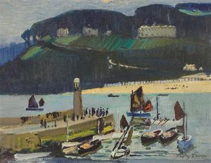 Richard Hayley Lever - St. Ives abend
