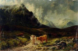 Louis Bosworth Hurt - am oberen ende von glen etive