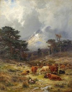 Louis Bosworth Hurt - braes bei orchy , Argylshire