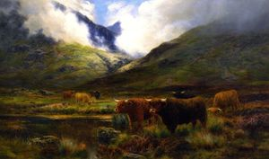 Louis Bosworth Hurt - Clachaig, Clencoe