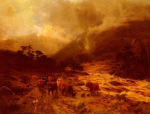 Louis Bosworth Hurt - Glen Dochart, Perthshire