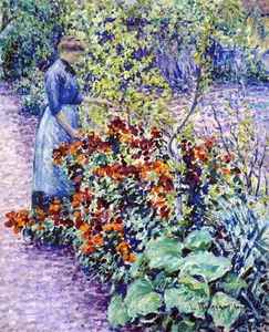 Louis Ritman - garten in giverny