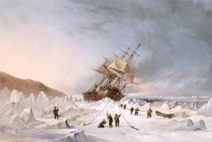 Thomas Sewell Robins - Hms Beistand in der Eis