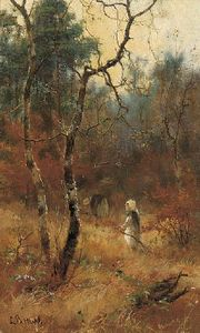Louis Bosworth Hurt - Herbst in der  wald