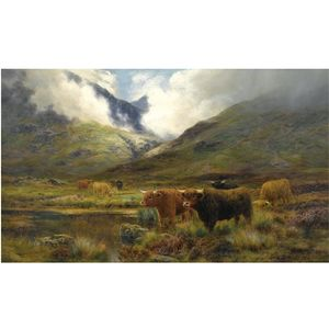 Louis Bosworth Hurt - Clachaig, Glencoe