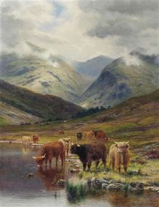Louis Bosworth Hurt - In Glen Nevis, Schottland