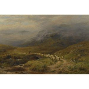 Louis Bosworth Hurt - Morning - In der Nähe Crianlarich, Perthshire
