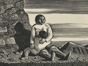Rockwell Kent - Groß Baby