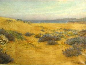 William Barraud - Flowering Dunes